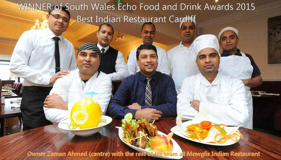 Winner of South Wales Echo Food and Drinks Award 2015