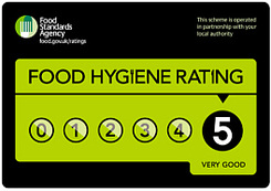 food hygiene ratings level FIVE