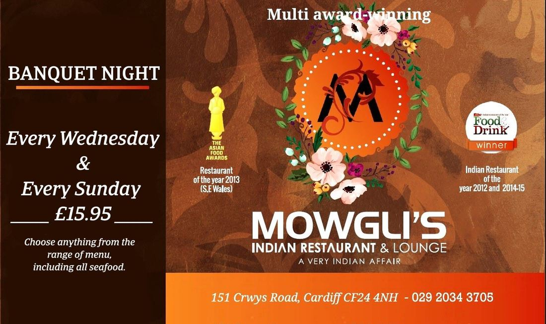 Banquet Night every Wednesday Evenings